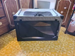 Collapsible dog crate for Sale in Stanwood, WA