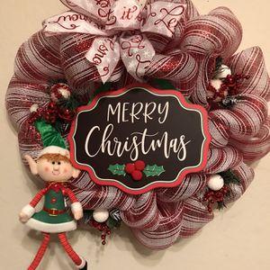 Christmas Holiday Elf Wreath for Sale in Gilbert, AZ