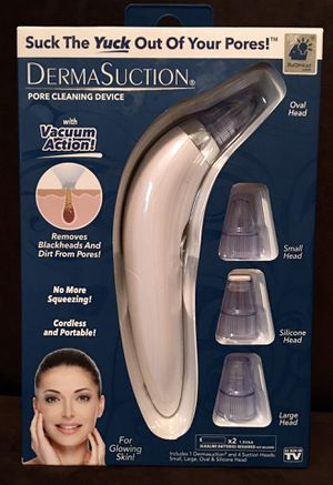 DermaSuction Pore Cleaning Device for Sale in Gainesville, FL