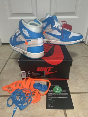 Jordan 1 off white UNC for Sale in Charlotte, NC