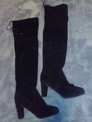 Ultra Suede Black over the knee boots for Sale in Tacoma, WA