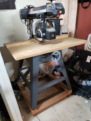 """Craftsman 10"""" Radial Arm Table Saw for Sale in Hollister, CA"""