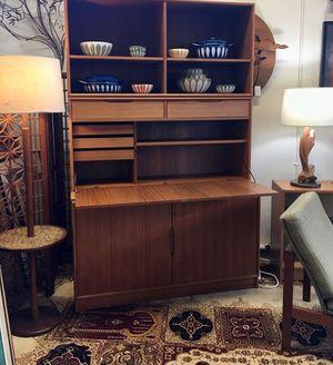 Danish Teak Secretary Desk /Hutch for Sale in Tumwater, WA