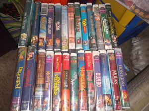 Lot of 30 unopened Disney vhs movies for Sale in Leesburg, FL