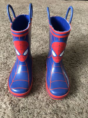 Toddlers rain boots for Sale in Montclair, CA
