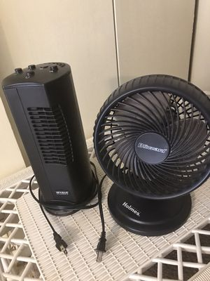 2 electric fans still available for pick up in Gaithersburg md for Sale in Gaithersburg, MD
