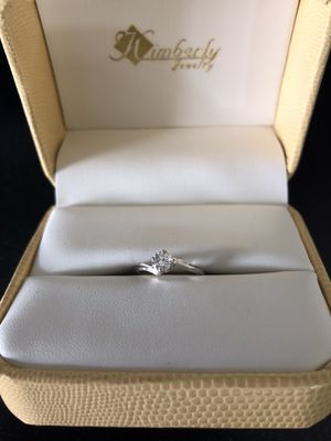 Ladies Diamond Solitaire Ring for Sale in Cuyahoga Falls, OH