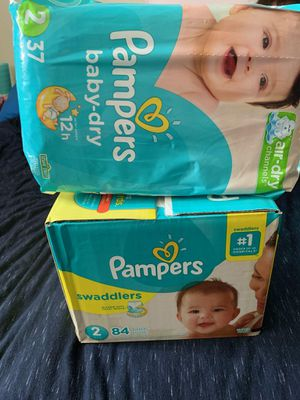Pampers size 2 for Sale in Los Angeles, CA