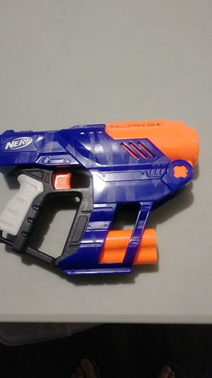 Nerf Shellstrike toy dart gun. for Sale in Wichita, KS