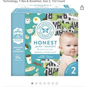 Honest Diapers Size 2 for Sale in Cleveland, TN