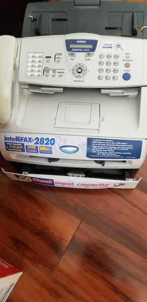 Brother Laser Intellifax 2820 machine. It is a laser fax machine as well as a high quality laser printer. for Sale in Pembroke Pines, FL