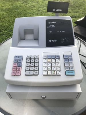 Sharp XE a21s programmable cash register for Sale in Liberty, SC