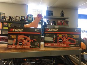 CHAINSAW SALE - NEW & USED - SAVE 20% OFF! - Prices VARY! for Sale in Roanoke, VA
