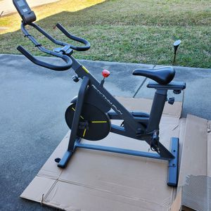 Indoor Stationary Bike with APP/LCD Monitor for Home Gym NEW ½ PRICE for Sale in Virginia Beach, VA