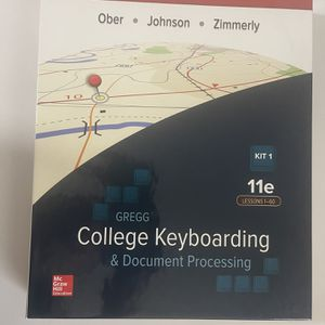 College Keyboarding 11 e for Sale in Tampa, FL