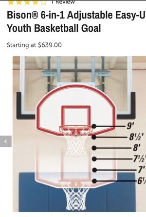 Youth Basketball Goal for Sale in Dallas, TX