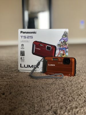 Panasonic Lumix TS25 16MP Waterproof Digital Camera with 4x Optical Zoom - Orange for Sale in Queen Creek, AZ