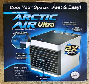 Artic air Ultra - Personal Portable Air Condition / air Cleaner / Air cooler for Sale in Los Angeles, CA
