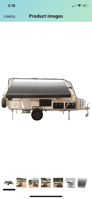 ALEKO Manual Retractable RV Trailer Awning for Home or Camper- 13x8 Ft - Black Fade for Sale in San Diego, CA