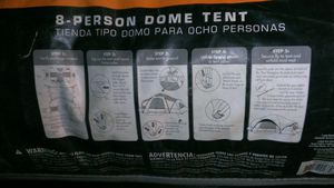 Lts 8 person camping tent for Sale in Vancouver, WA