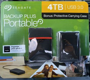 SEAGATE 4TB BACKUP + HD!! New!!! for Sale in Denver, CO