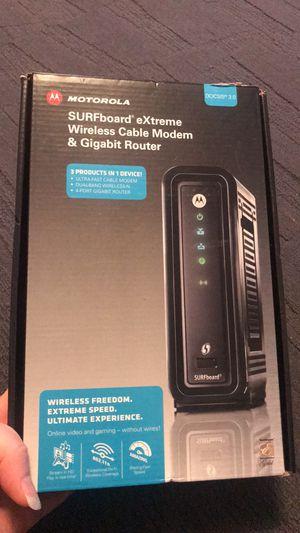 Motorola surfboard router for Sale in Cincinnati, OH