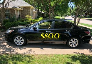 🔥🔥$8OO URGENT I sell my family car 2OO9 Honda Accord Sedan V6 EX-L 𝓹𝓸𝔀𝓮𝓻 𝓢𝓽𝓪𝓻𝓽 Runs and drives very smooth.🍁🍁 for Sale in Paterson, NJ