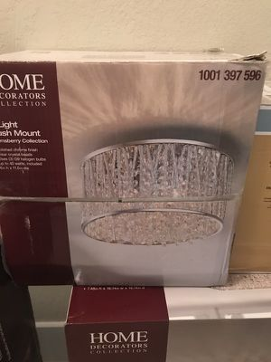 Light fixture for Sale in Fort Lauderdale, FL