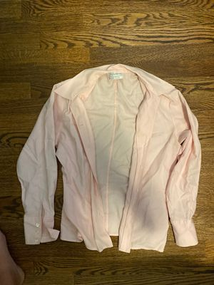 Women's Pink Burberry button up for Sale in Denver, CO