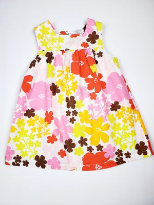 💜Toddler/baby girl flower dress size: 18 months for Sale in Monterey Park, CA
