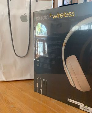 Beats Studio 3 Wireless Noise Cancelling Over- Ear Headphones for Sale in Batsto, NJ