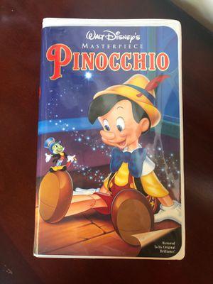 Pinocchio VHS Movie for Sale in Marietta, GA