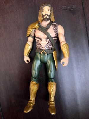 DC Comics 2015 Mattel Aquaman🔱 Collectible 6 Inch Action Figure! for Sale in Corona, CA