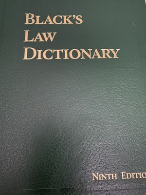 Black's Law Dictionary for Sale in North Chesterfield, VA