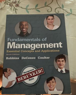 Fundamentals of Management: Essential Concepts and Applications 9th Edition for Sale in Arlington, MA