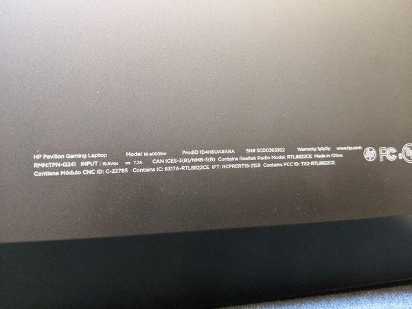 "HP Pavilion Gaming Laptop 16.1"" New 10th Gen i5 NVIDIA GeForce GTX 1650 Ti"