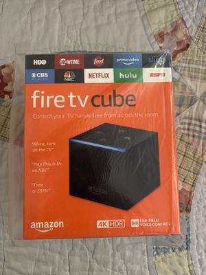 Amazon fire tv cube for Sale in Phoenix, AZ