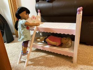 """Bunk bed for 18"""" doll for Sale in Coon Rapids, MN"""
