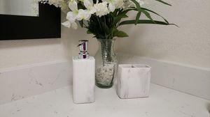 Marble imitation bathroom set for Sale in Phoenix, AZ