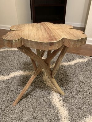 Natural Weathered Finish End Tables (Set of 2) for Sale in Silver Spring, MD