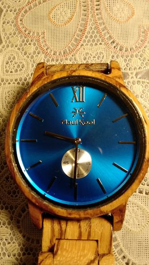 Wood watch for MAN $ 15 firm price PICKUP ONLY for Sale in El Monte, CA
