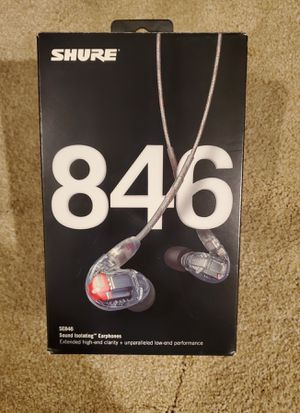 Shure SE 846 earbuds like New (used a couple times) wow!! for Sale in Chicago, IL