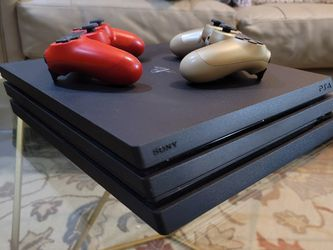 Playstation 4 Pro 1TB , Includes 2 Controllers. Purchased One Year Prior. for Sale in Queens,  NY