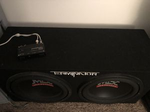 MTX Terminator 12's with Powerbass alc-2 for Sale in Lima, OH