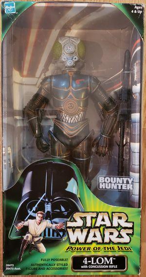 New Star Wars (Power of the Jedi) 4-LOM Figure. for Sale in Apopka, FL