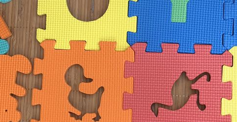 102 Pcs Toys! Play!Foam Floor Shapes Puzzle Learning Mat for Sale in Yorba Linda,  CA