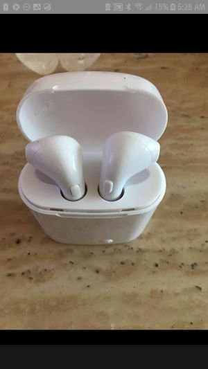 Wireless Bluetooth Earbuds and Recharging Case for Sale in Cleveland, OH