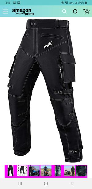 New tags XXL// 30 inseam//Motorcycle Pants For Men Dualsport Motocross Motorbike Pant Riding Overpants Enduro Adventure Touring Waterproof for Sale in Las Vegas, NV