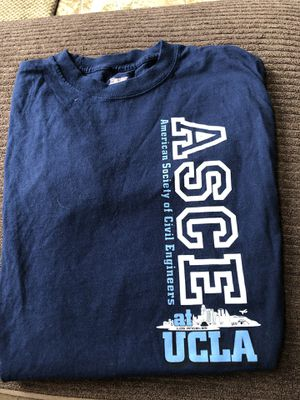 Used, UCLA Bruins ASCE T-shirt Engineers Medium for Sale for sale  Lake Forest, CA