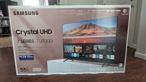 "Samsung 55"" 4K TV brand new in box for Sale in Henderson, NV"
